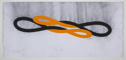 1578, 2011 Gouache and charcoal 33.2 x 70 cm